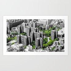 NYC - Living Green Art Print