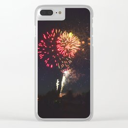 All I See is Fireworks Clear iPhone Case