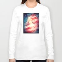 patriotic Long Sleeve T-shirts featuring Patriotic Liberty Collage by politics