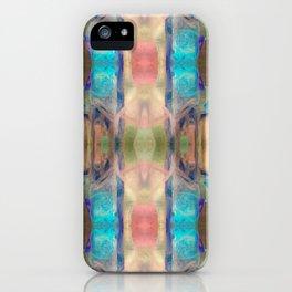 Blue Geo Fido iPhone Case