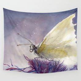 Dancing With Moonlit Wings Wall Tapestry