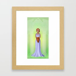 Greek Legends - Pandora Framed Art Print