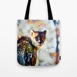 Your Cheetah Eyes Tote Bag