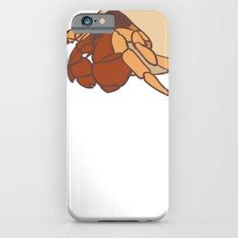 Cute Little Hermit Crab Hermies iPhone Case