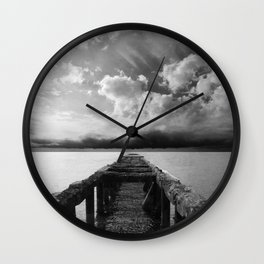 without destination Wall Clock