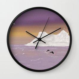 Flight of the Gulls Wall Clock