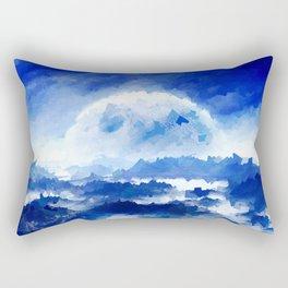 Moon Light Rectangular Pillow