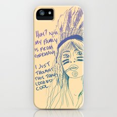Attention Whore - Color Slim Case iPhone (5, 5s)