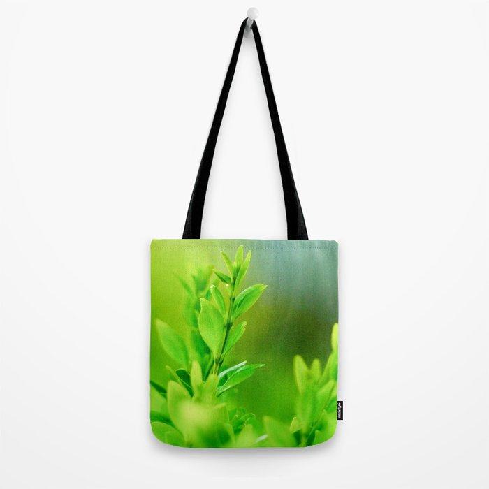Green Harmony Tote Bag