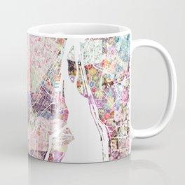 Montreal map canada Coffee Mug