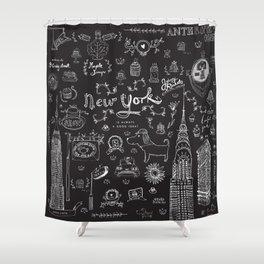 New York is always a good idea! Shower Curtain