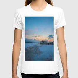 lake Ontrio sunset T-shirt