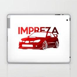 Subaru Impreza 2006 - classic red - Laptop & iPad Skin