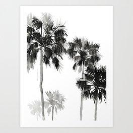 Paradis Noir I Art Print