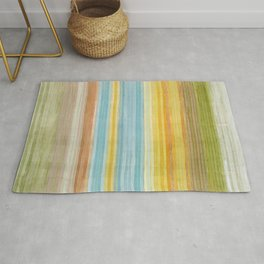 Colorbands Yellowstone Yellow Rug