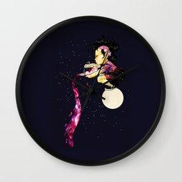 Lunar Tea Time Wall Clock