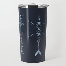 Geometric Arrows - Native American Sioux Travel Mug