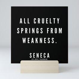 2   | Seneca Quotes | 190529 Mini Art Print