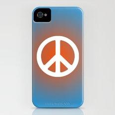 Peace Slim Case iPhone (4, 4s)