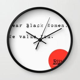 Dear Women Wall Clock