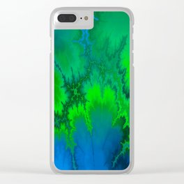 Dropped Out Clear iPhone Case