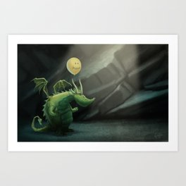 Grint's Golden Hoard Art Print