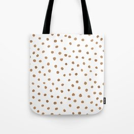 Goldie Dots Tote Bag