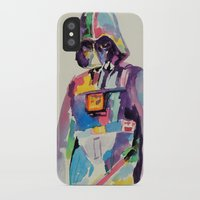 vader iPhone & iPod Cases featuring vader by kuri