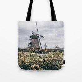 Kinderdijk Windmill Tote Bag