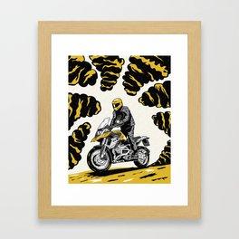BMW 1200 GS Framed Art Print