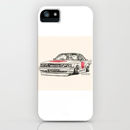 Crazy Car Art 0176 iPhone Case