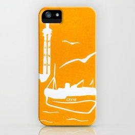 Home in Yellow iPhone Case