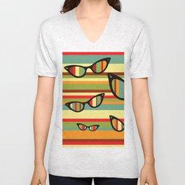 sun glasses Unisex V-Neck