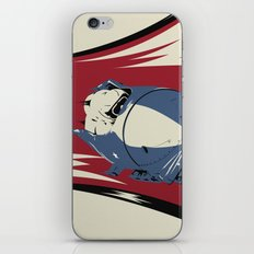 Give 'Em Hell! iPhone & iPod Skin