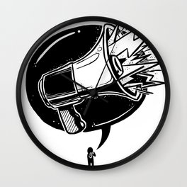GET LOUD Wall Clock