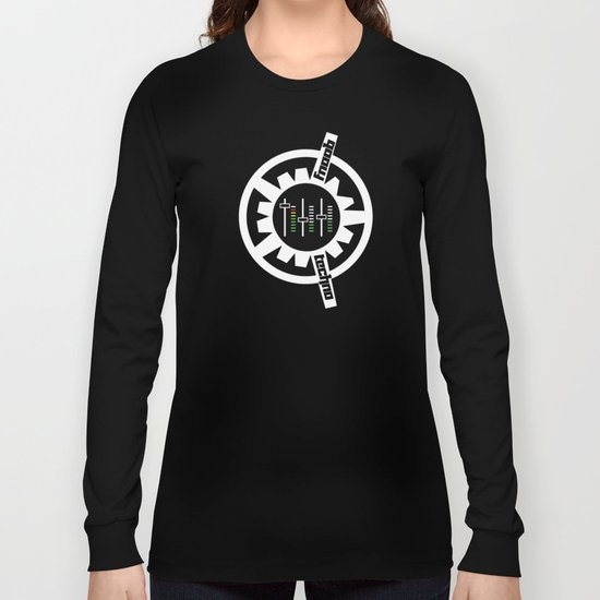FNOOB Techno 3.0 logo Long Sleeve T-shirt