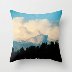 Delineation Throw Pillow