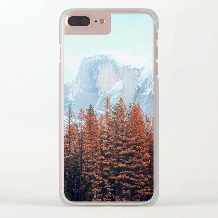 winter views #society6 #decor #buyart Clear iPhone Case