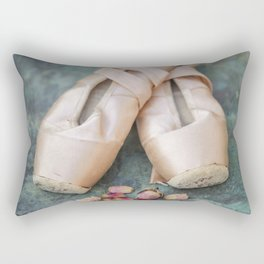 Pointe Shoes Rectangular Pillow