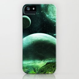 Planetrise iPhone Case