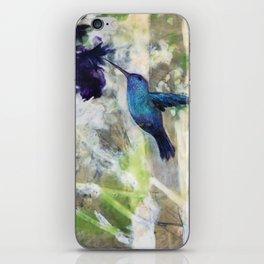 Hummingbird Haze iPhone Skin