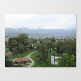 View from Santa Barbara City College Canvas Print
