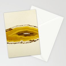Agate - Yellow Slice Stationery Cards