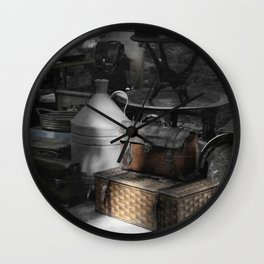 flea market Lisbon Wall Clock