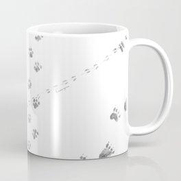 Animal Tracks of North America Coffee Mug