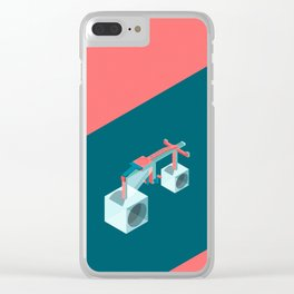 The Impossible Bike Clear iPhone Case