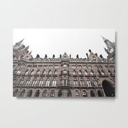 St Pancras Hotel Metal Print