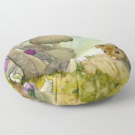 First Impressions Floor Pillow