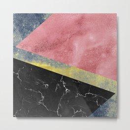 Raw Feelings - Abstract Textures Metal Print