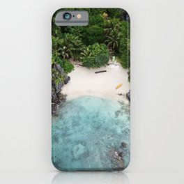 Isolated Beach iPhone Case